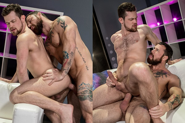 Sergeant Miles fucks Kurtis Wolfe in Shut Up and Fuck Me at Ragingstallion