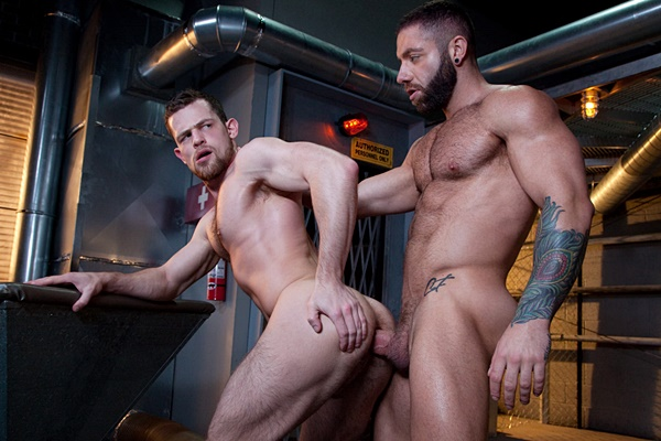 Muscle stud Eddy Ceetee flip fucks Kurtis Wolfe bareback in Raw Power at Ragingstallion