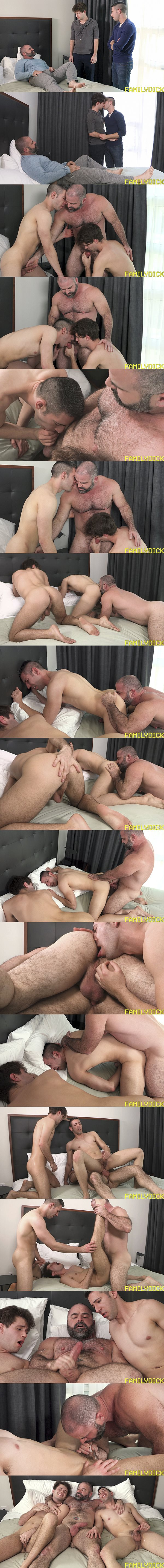 Bishop Angus barebacks Elder Gardner and his brother in Love at Home Chapter 1 Brotherly Love at Familydick 02