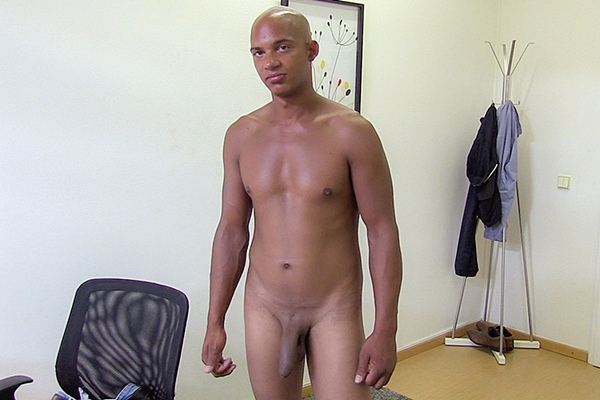The casting director Musil barebacks a straight black jock in his bottoming debut in Dirty Scout 149 at Dirtyscout