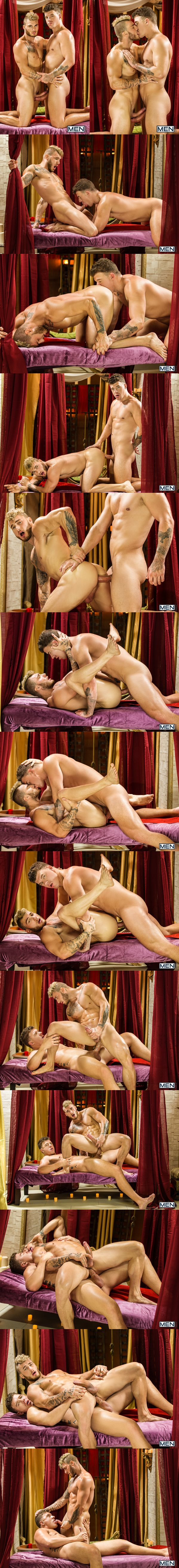 Big dicked JJ Knight (Eromenos) fucks Canadian beefcake William Seed (Erastes) in Sacred Band Of Thebes Part 1 at Drillmyhole 02
