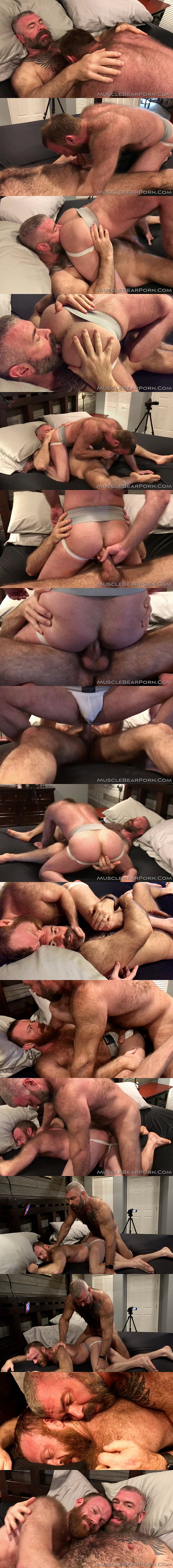 Will Angell barebacks and creampies sexy fuzzy ginger stud Russell Tyler in Daddy and A Furry Boy at Musclebearporn 02