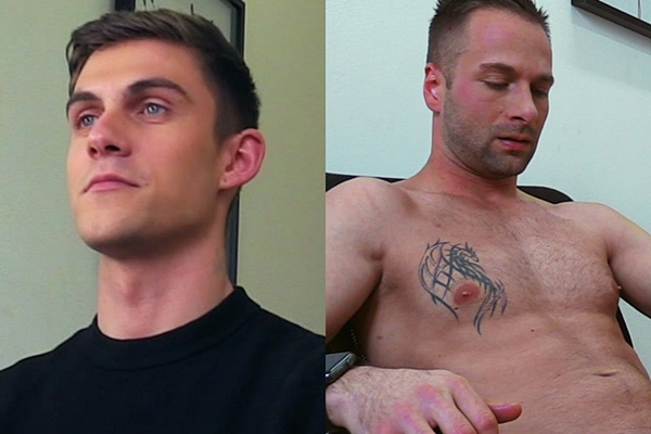 A handsome straight barber and a masculine muscle jock get their virgin asses popped for cash in Dirty Scout 177 and 178 at Dirtyscout