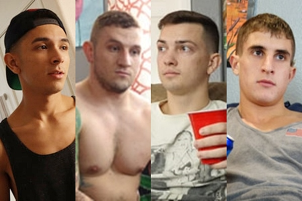 26 hot new frat actors of Alex Rim, Anthony Miller, Bruno Cartella, Casey, Cody K. Nutz, Evan Cox, Ezekiel Garcia, Hollden Coldwater, Jay Rock, Kevin Taxas, KJ, Landon Matthews, Leo Rex, Marcus Labronx, Max Marciano, Nate, Nathan Vegas, Oliver Dean, Pierce Olson, Rio Rodriguez, Sean Rodney, Tenzin, Tiger, Wade Hicks, Zach Country and Zane in The Model List Part 06 at Fraternityx