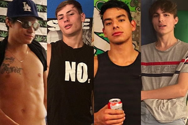 Austin Drake, Bryan Rebel, Chase Rivers, Cyrus Stark, Dylan Lee, Gino Zanetti, Jager Wilde, Jakeh Wilde, Jordan Cruz, Kade Rivers, Levi Whitman, Matt Cash, Quincy Green in The Model List Part 07 at Fraternityx