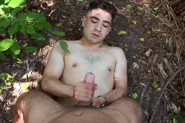 The cameraman barebacks a cute Russian jock's tight virgin ass outdoors in a POV scene before the russian dude jerks the cameraman off in Czech Hunter 550 at Bigstr