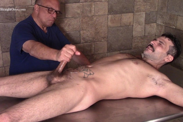 Manly straight hunk Nick gets fingered, buttpluged, dildo-fucked, sounding and slowly edged by master Rich before Rich jerks Nick off in A Straight Guy's Biggest Fears at Hardupstraightguys