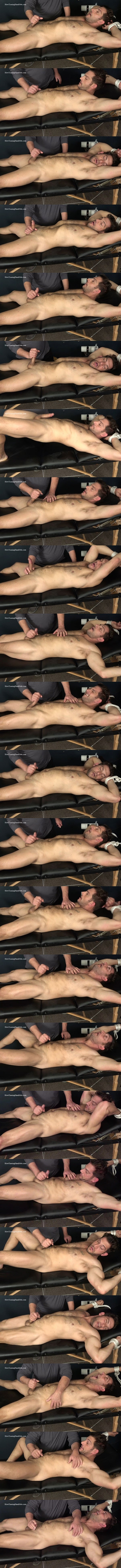 Masculine straight beefcake, Italian muscle hunk Markey gets slowly teased, stroked and jerked off by master Rich in Markey Jerked Off and Milked at Slowteasinghandjobs 01