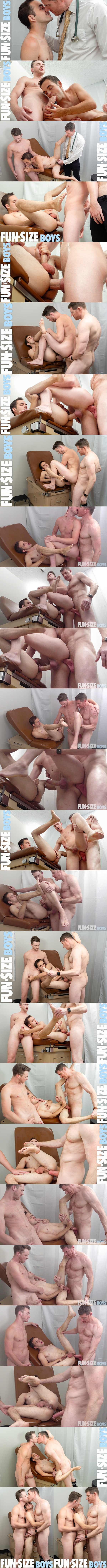 Horse hung daddy LeGrand Wolf barebacks and creampies twinks Marcus Rivers and Cole Blue in an older younger threesome in Little Marcus and Wolf's Kingsize Nurse at Funsizeboys 01