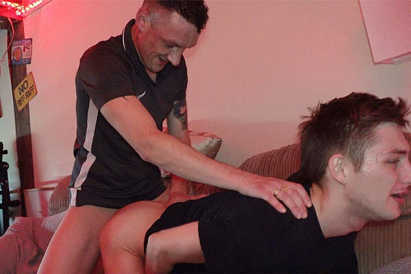 Hung British scally lad Martin barebacks and breeds Josh in Screaming Josh Gets My Load Fucked Inside Him. Gigantic Cock Shoots Twice Part 2 at Hungyoungbrit